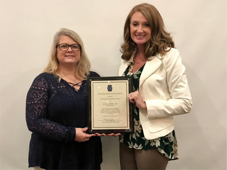 Becka Cox named 2018 Clerk of the Year